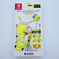 Hori Gaming Headset In-ear for Nintendo Switch Pikachu POP ver. Japan Import
