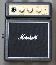 Marshall MS2 Black Mini Amp Free Delivery Delivered by Guitars Wales