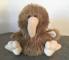 Antics Kiwi Bird Hand Puppet Plush Toy Australian Long Beak Full Body