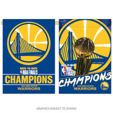 2018 NBA Champions Golden State Warriors 28x40 Double Sided Banner