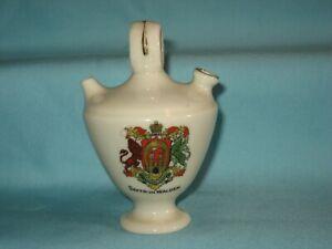 Florentine China Olive Oil Jar - SAFFRON WALDEN Crest