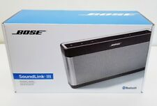 BOSE SOUNDLINK 111 BLUETOOTH WIRELESS PORTABLE SPEAKER  - SILVER. NEW IN BOX