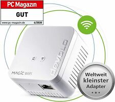 devolo Magic 1 WiFi mini Single Adapter, Powerline Erweiterung inkl. WLAN