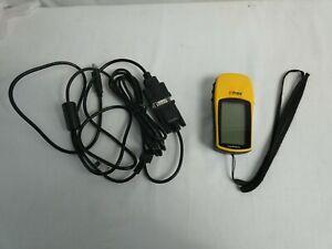 Garmin Etrex High Sensitivity Outdoor Handheld GPS with Various Leads