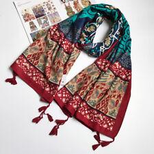 Écharpes et châles foulards floraux pour femme, en 100% coton