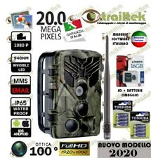 FOTOTRAPPOLA SPIA NUOVO MODELLO 2020 - MMS GPRS EMAIL -  20Mp. Full HD