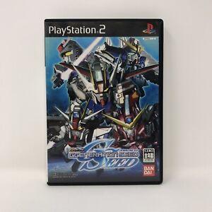 SD Gundam G Generation Seed PS2 Playstation 2 Japan Import