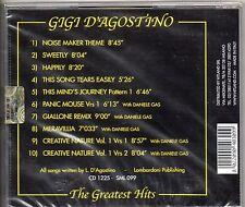 GIGI D'AGOSTINO CD made in ITALY  THE GREATEST HITS sigillato SEALED Daniele Gas