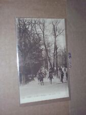 Paris Le Bois de Boulogne Aux Acacias Chevaux Horses actual photo Man People