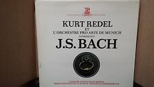 BACH - KURT REDEL PRO ARTE MUNICH CANZONE-PARTITA RE  LP VINYL VG+/VG+ STU 70629