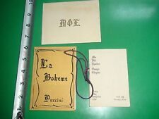 JC465 Vintage 1918 LOT Program Active Member List Mu Phi Epsilon Sorority Golf