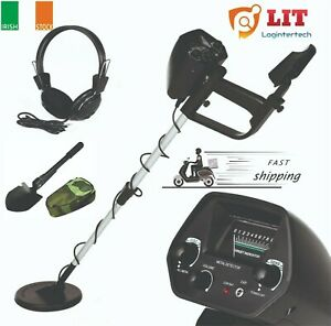 Metal Detector All Metal Waterproof Gold Treasure Hunter Headphone Free P&P IE