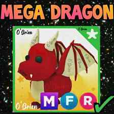 🐲 (MFR) MEGA DRAGON 🐲 with Fly Ride. Adopt Me. Roblox. red legendary pet