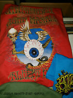 Jimi Hendrix Experience Fillmore Aud 1968 Concert Poster Red Shirt Flying Eye L