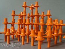 Kerzenständer Kerzenhalter Elemente SONTI 70er orange Quist BMF Nagel Ära
