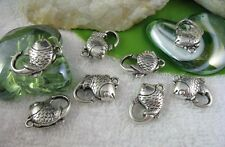 20PCS Tibetan Silver Fish Lobster Clasps Clasp15 for jewelry making Clasp15