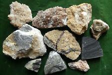 TOP - 10 Harz-Mineral-Stufen - Harz Spezial - RAR