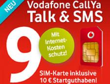 Vodafone Prepaid SIM Karte Ink Guthaben CallYa D2 aktiv Registriert