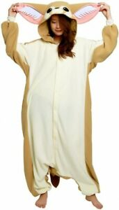 SAZAC Fleece Costume Fennec Fox Cosplay Unisex Free Size Costume One Size Japan!