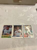 1984 Donruss , Fleer, topps, Wade Boggs Boston Red Sox (3) card lot