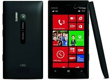 Nokia Lumia 928 RM-860 32GB Black Verizon (Factory GSM Unlocked) Good 8/10 #4515