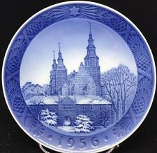 Royal Copenhagen CHRISTMAS PLATE 1956 no box or certificate GREAT CONDITION