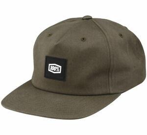 100% Lincoln Snapback Hat - Brindle
