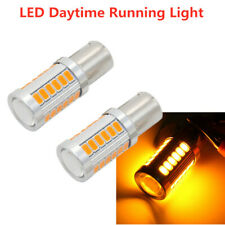 2Pcs HID 1156 5630 33SMD 3000K High Power Interior LED Light Bulbs 1073 1141