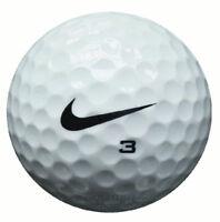 25 Nike One Platinum Golfbälle im Netzbeutel AAA/AAAA Lakeballs gebrauchte Bälle