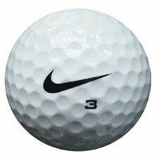 50 Nike One Black Golfbälle im Netzbeutel AAA/AAAA Lakeballs gebrauchte Bälle