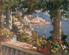 dipinto a olio firmato VINCENZO APRILE OLIO SU TAVOLA 40X50