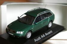 1:43 AUDI a6 avant c5 Facelift Green Racing Vert MINICHAMPS 2.0.5.3 TDI QUATTRO