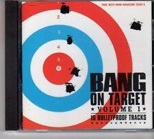 (FP436) Bang On Target Vol 1, 15 tracks - August 2003 Bang Magazine CD