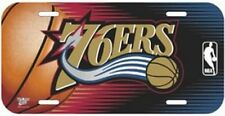 Philadelphia 76 Ers, NBA Basketball Car Plate Car Fan Sign, 11 13/16in, New