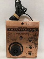 MRC THROTTLEPACK Model Rectifier Train Transformer 501 Hobby 16VDC 18VAC TESTED