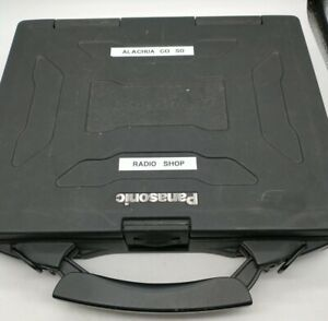 County Used Panasonic Toughbook CF-27 Computer Only For Parts no power cord good