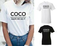 Ladies Kids Children's Fashion Celebrity Designer T Shirt Top Blouse NEW