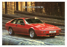 Lotus Excel poster reproduced from an original brochure