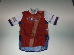 "Aero Tech Cycling Jersey ""Fly Boys Cycling"" Men's S Amer. Airlines Red & Blue"