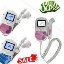 Pregnancy Baby Fetal Heart Rate Monitor Fetal Doppler Recorder Sound,3Mhz Probe