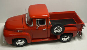 1956 Ford F100 Pickup Truck Red Mira 1:18 Scale