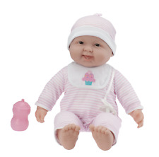 """Designed by Berenguer Jc Toys Lots to Cuddle Babies 20"""" Pink Soft Body Doll"""