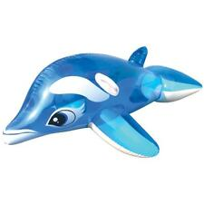 Land & Sea Inflatable Ride on Dolphin 130cm - Extra Strong PVC