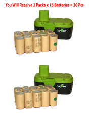 2x 18 Volt Sub C 1700 mAh NiCd Batteries Cordless Drill Pack Assembly Battery