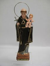 8 Inch Saint Anthony Statue StatueFigurine #1061 - St. Anthony of Lisbon