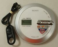 Sony Walkman D-NF430 Portable CD Player FM/AM/TV/Weather w/ RM-MC29F Remote