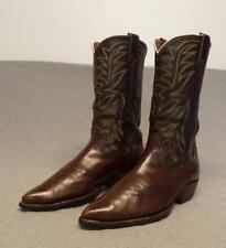 "Vintage Nocona Western Cowboy Leather Riding Casual work boots men's 9.5E ""Usa"""