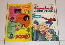 IL GIORNALINO DE L'UOMO RAGNO 7 Il terribile Kingpin Super Eroi Corno 1981
