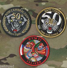 NATO TIGER MEET 1961-2011 NTM 50th ANNIVERSARY COMMEMORATIVE vel©®⚙ SSI Item# 1