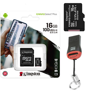 16GB Memory Card for Amazon Fire HD 8 Kfonwi 2020 Smartphone Kingston Micro SD